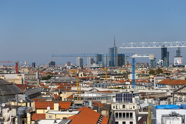 Roofs of Milan