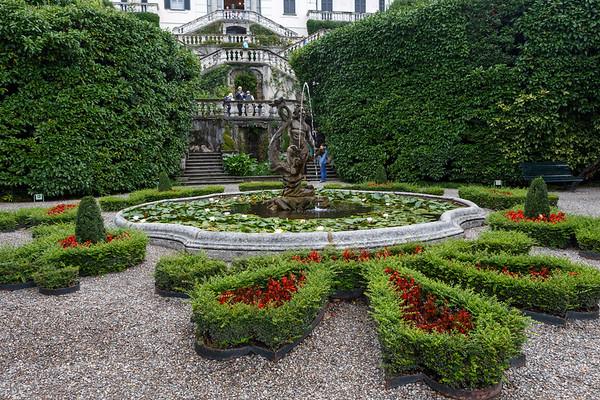 Villa Carlotta - the main entrance