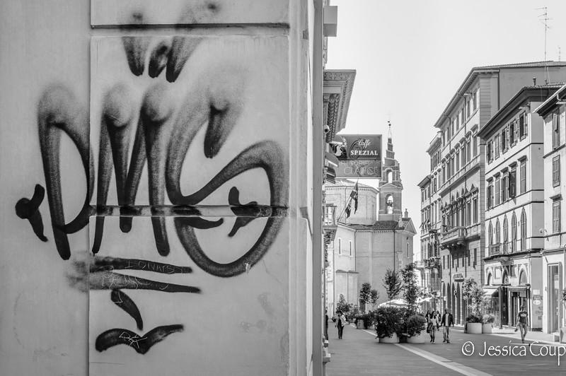 Graffiti on the Main Drag