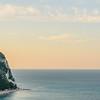 Ancona Coastline at Sunset