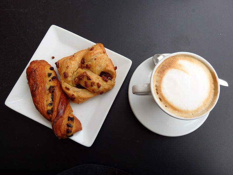 An Italian breakfast