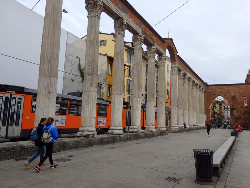 Colonne di San Lorenzo in Milan