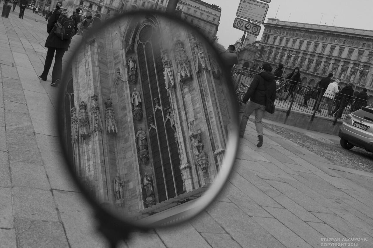 Duomo in Milan Reflection