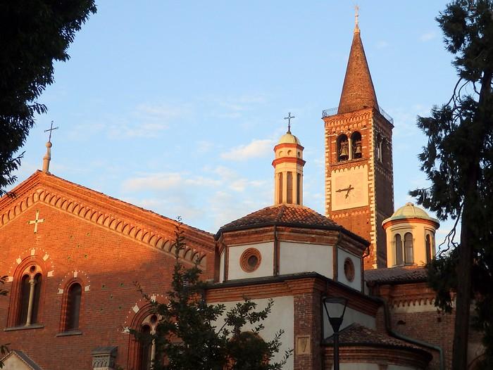 Basilica of Sant'Eustorgio in Milan, Italy