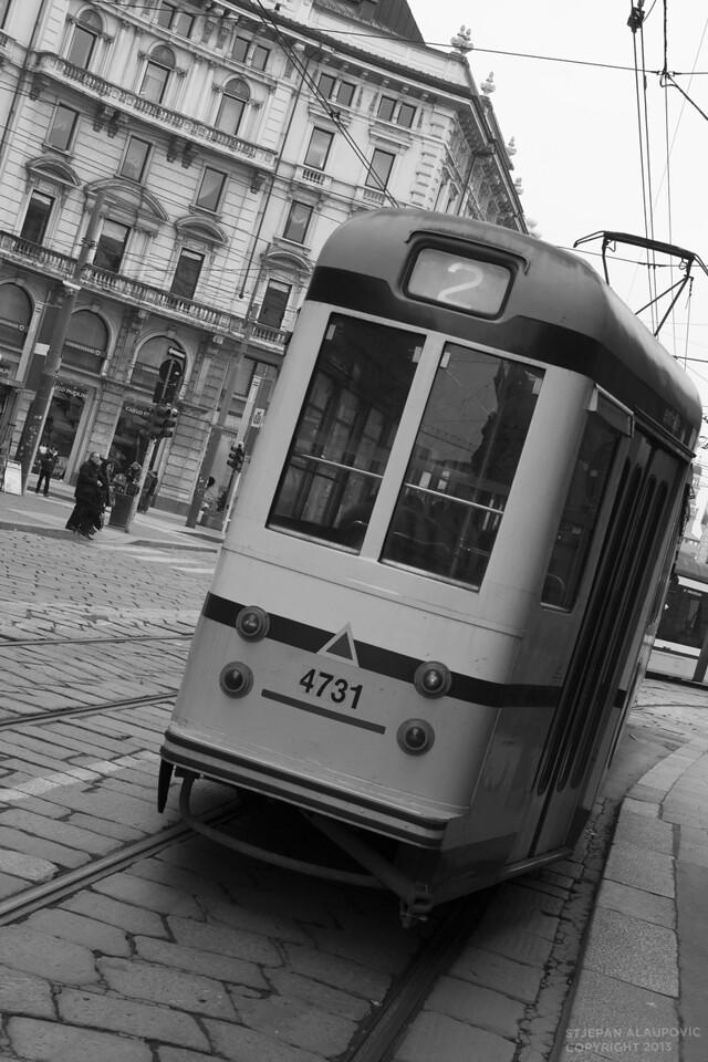 Milano Street Train