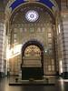 Milan's monumental cemetery; Alessandro Manzoni's tomb.<br /> <br /> Il cimitero monumentale di Milano; la tomba di Manzoni.