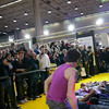 """Style revolution"", parkour, dance, freestyle, stand Nikon. Photoshow Milano 2011."