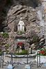 A maddona Catholic shrine in the Amalfi coast town of Minori, Italy.