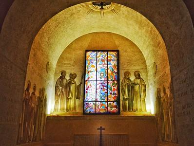 """""""Simple Chapel for Complex Prayers"""" - Abbazia di Montecassino - Italia"""