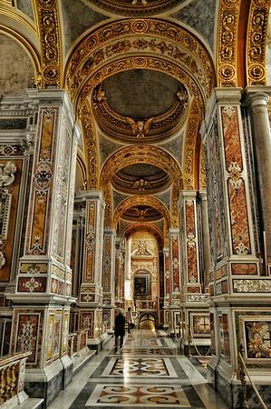 """""""Gilded Path"""" - Abbazia di Montecassino - Italia"""