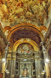 """""""San Silvestro in Capite"""" - Roma Built in the 8th century as a shrine for the relics of the saints and martyrs from theCatacombs, the church is the National church ofGreat Britain."""