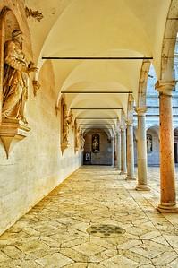"""""""Time Arches On"""" - Abbazia di Monte Cassino - Italia"""
