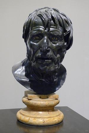 Bust of Seneca (Villa dei Papiri)