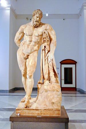 National Archeological Museum  -  Farnese Hercules