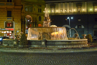 Fountain in Piazza Trieste E Trento