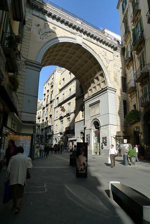 Via Chiaia and Ponte di Chiaia