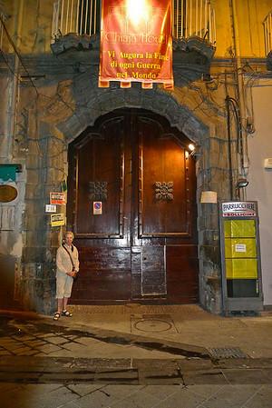 Street door to Chiaja Hotel de Charme