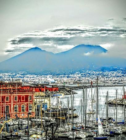 """""""Vesuvius over the Bay"""" - Napoli"""