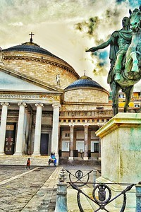 """Basilica Reale Pontificia San Francesco di Paola"" - Napoli"