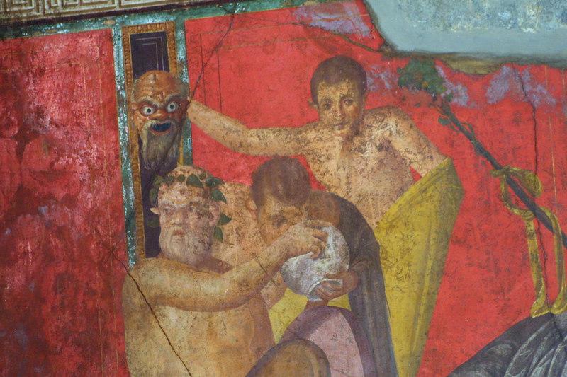 Pompeii Frescos - 6