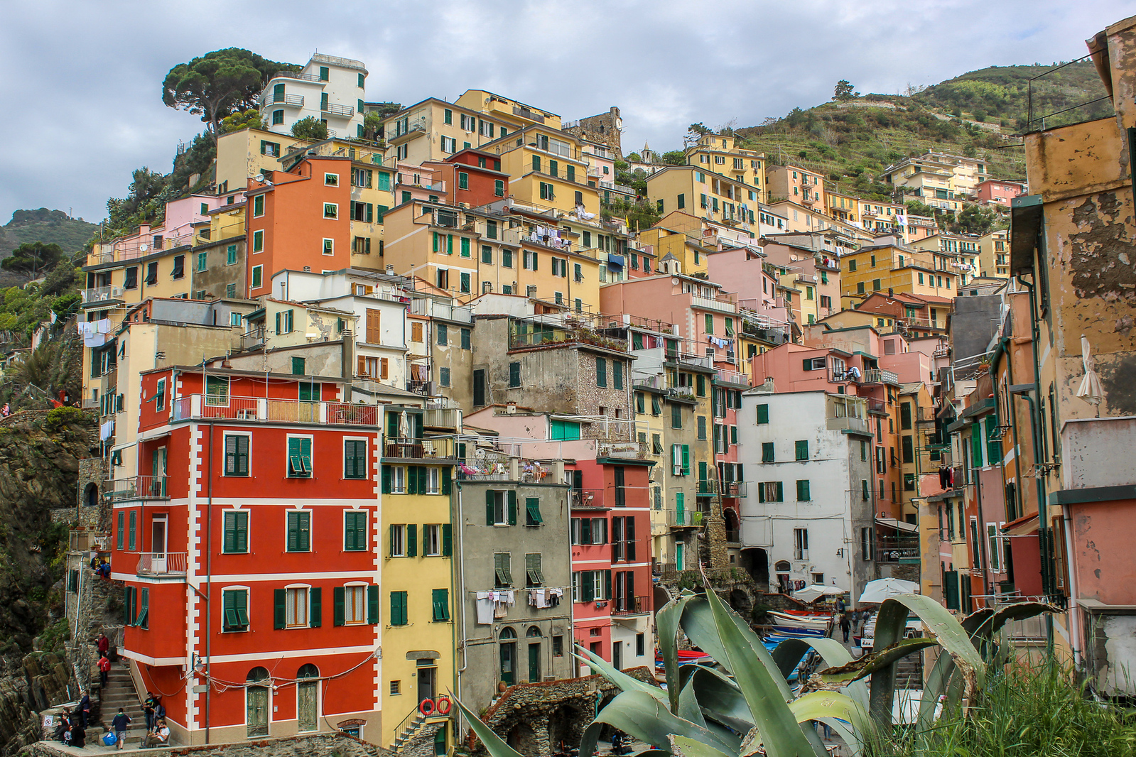 2 days in cinque terre gives you plenty of time in the villages