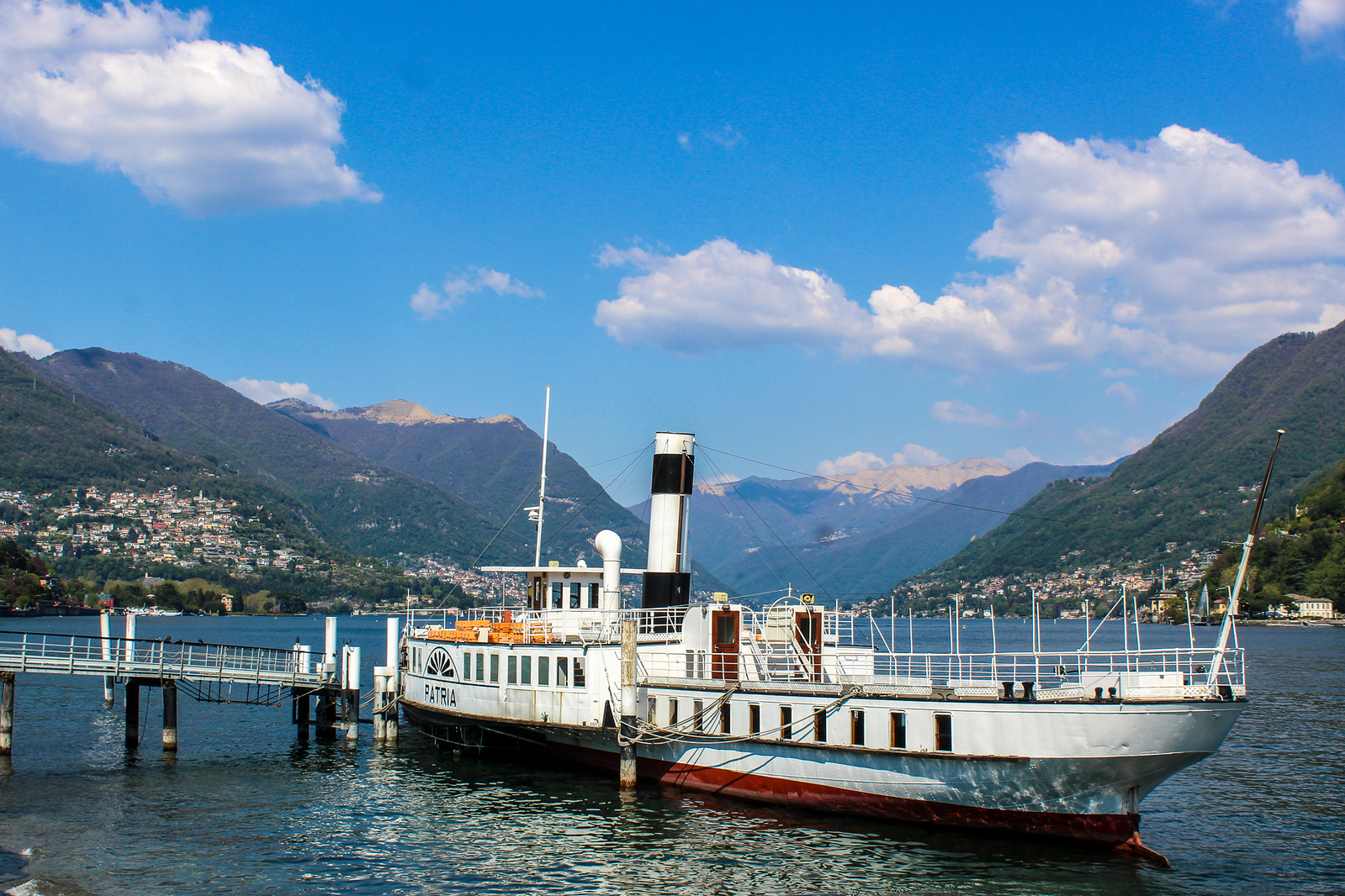 day trip lake como from milan requires taking ferries