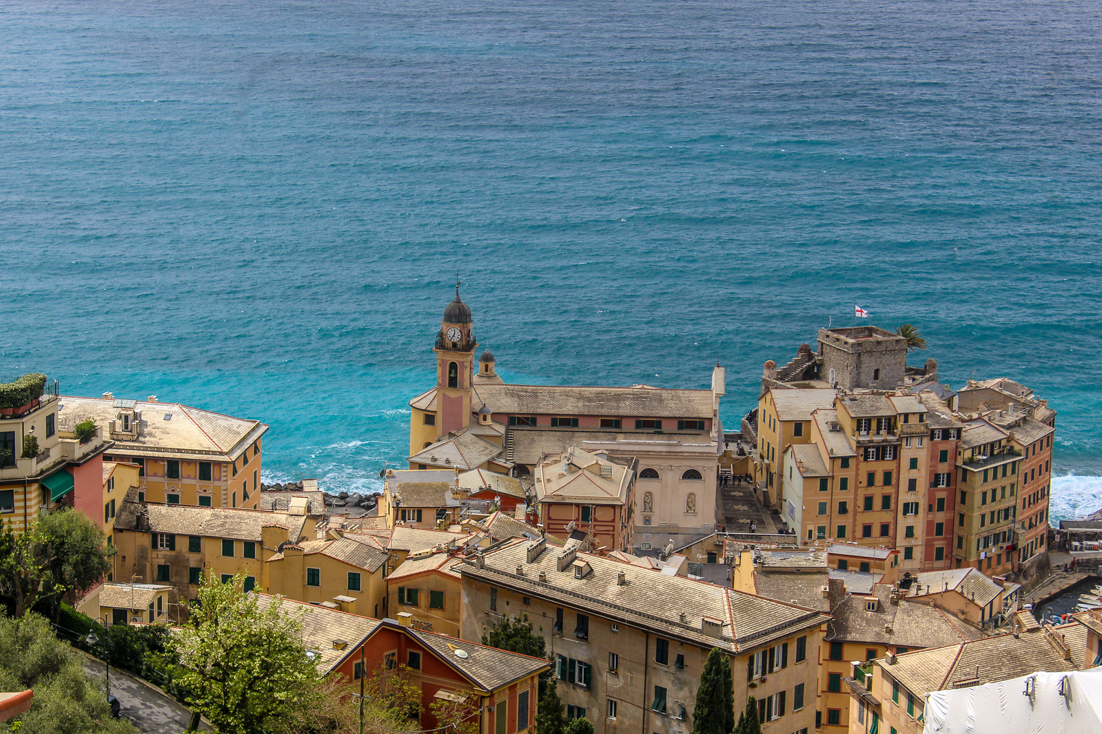 things to do in camogli: climb and savor the view