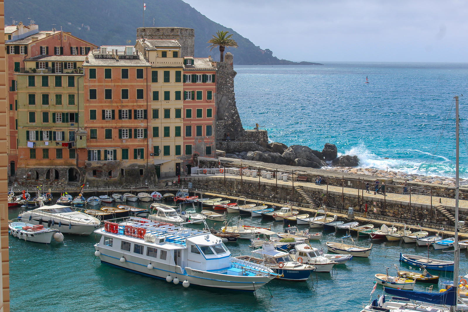 the best solo travel italy tours will take you to small towns like camogli