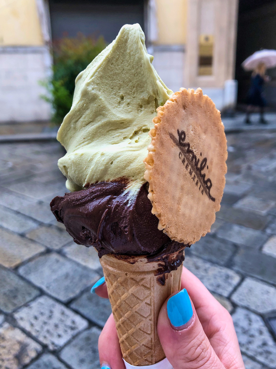visiting parma italy means eating lots of gelato