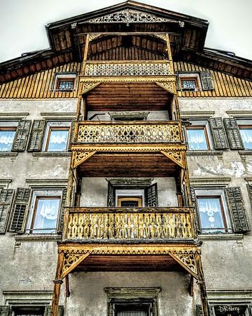 """Alpine Architecture"" - Ortisei"