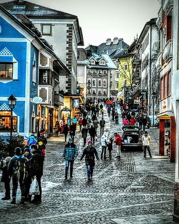 """Colorful Ski Town"" - Ortesei"