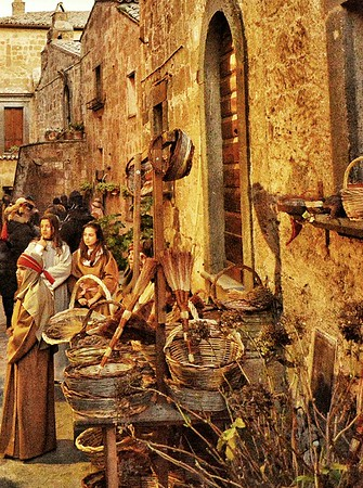 """Medieval Christmas Market"" - Bagnoregio, Italia"