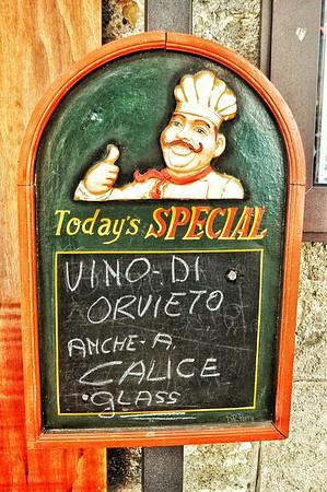 """Special Indeed"" - Orvieto"