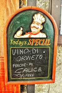 """Special Indeed"" - Orvieto"