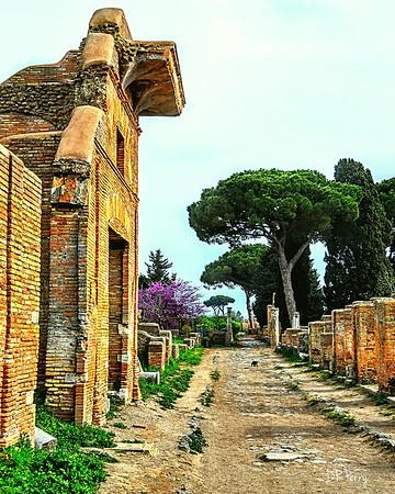 """Lonely Street"" - Ostia Antica"