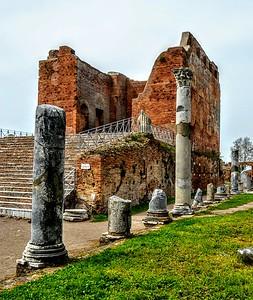 """""""Temple Remains"""" - Ostia Antica"""