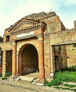 """Bygone Glory"" - Ostia Antica"