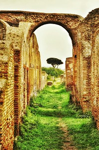 """Once the Way Home"" - Ostia Antica"