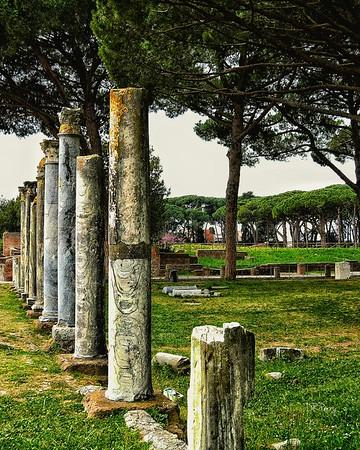 """Perpendicular Beauty"" - Ostia Antica"