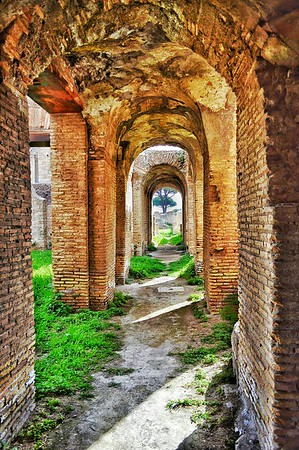 """Spanning Time"" - Ostia Antica"