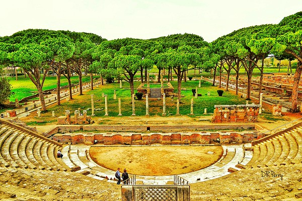 """Let the Show Begin"" - Ostia Antica, Italia"