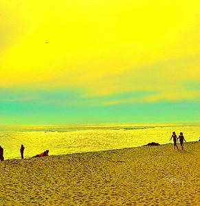 """Day Ends"" - Ostia Lido Beach"