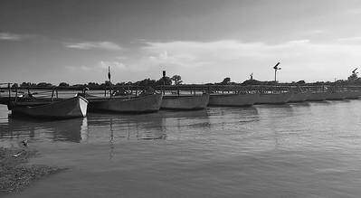 The Po river delta