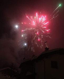 New year's day 2018 in Fraciscio, Italy