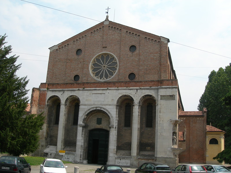 Church of the Eremitani.<br /> <br /> Chiesa degli Eremitani.