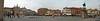 The parvise of Saint Anthony's Basilica; stitched panorama made with Autopano Giga out of 12 images.<br /> <br /> Panorama del sagrato della Basilica realizzato unendo 12 immagini con Autopano Giga