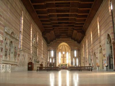 Church of the Eremitani.  Chiesa degli Eremitani.