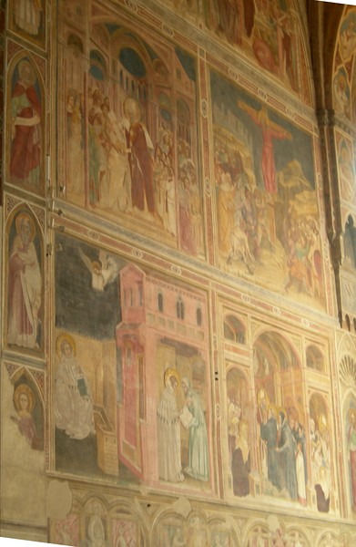 Church of the Eremitani.<br /> <br /> Chiesa degli Eremitani.