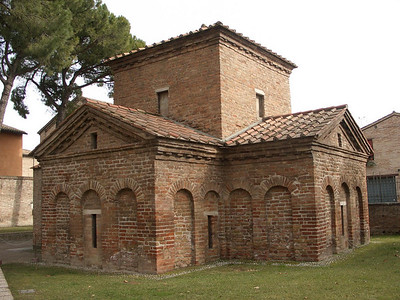 Revenna - Mausoleum of Gall Placidia
