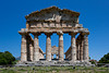 The Temple of Athena in the ruins of Paestum, Italy.